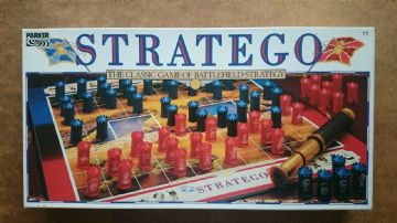 Stratego  Board Game By Parker (1987)